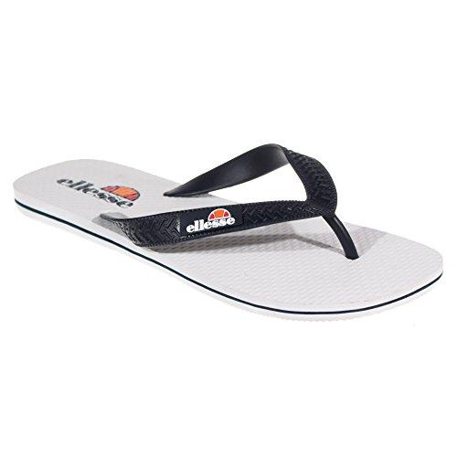 Flop Pisa Herren Slide Ellesse Retro Flip Sandale Weiß 47I6xqd