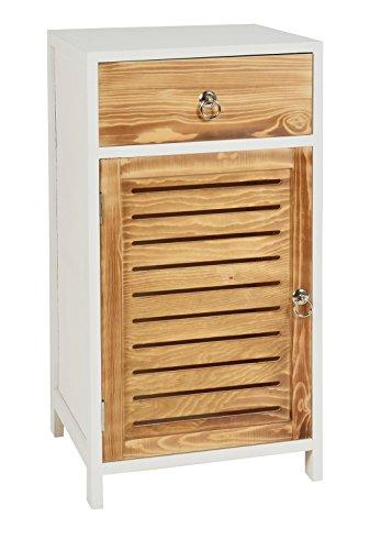 """ts-ideen Cómoda estilo """"casa rural"""" 67,5 cm Estantería armario para almacenamiento"""