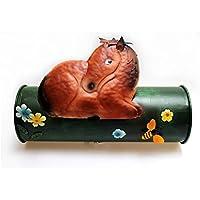 Periódicos caballo pared Suspensión metal multicolor Post–Gall & Zick