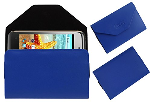 Acm Premium Pouch Case For Karbonn Titanium S1+ Plus Flip Flap Cover Holder Blue  available at amazon for Rs.179