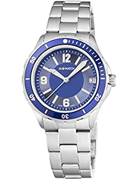 M-WATCH Damen-Armbanduhr Aqua Steel Analog Quarz WBX.18240.SJ