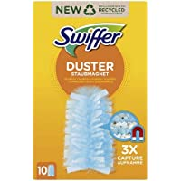 Swiffer Duster Recharges, 10 Recharges Plumeau, Parfum Febreze, Plumeau Attrape-Poussière