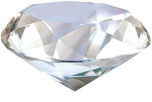 Signes Grimalt - Presse-papier en cristal DIAMANT, 10 cm 3859SG