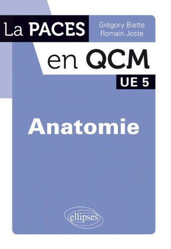 Paces en Qcm Anatomie