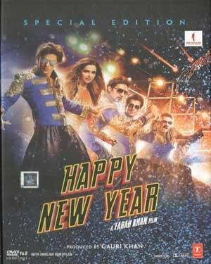 HAPPY NEW YEAR (Special Limited Edition) - 2 DVD-Set