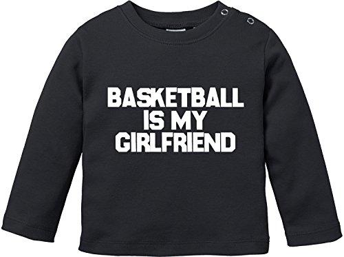EZYshirt® Basketball is My Girlfriend Baby T-Shirt Longsleeve