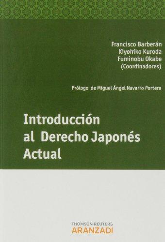 Introducción al Derecho Japonés Actual (Monografía)
