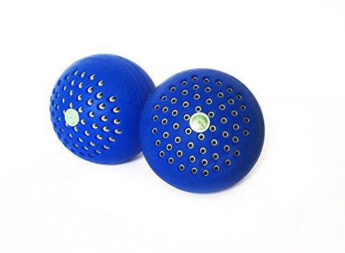 BlueMagicBall- 2-er Pack Waschball Stoppt Schweißgeruch und Bakterien in der Wäsche! -