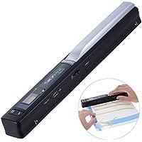 Aibecy TSN410 Escáner de Documentos -900 DPI Sin Conductor (Formato: JPG / PDF)para Foto /Recibo /Periódico /Documento /Revista /Carta, Negro