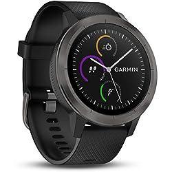 Garmin vívoactive 3 GPS-Fitness-Smartwatch - vorinstallierte Sport-Apps, kontaktloses Bezahlen mit Garmin Pay, Gunmetal Garmin