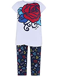 Tuc Tuc Camiseta+Leggings Punto Niña Tattoo, Conjunto de Ropa para Niñas