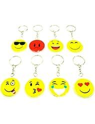 Icônes Porte-clés Porte-clés coussin coussin Signes Anneau porte-clés Porte-clés émoticône emojis Porte-clés