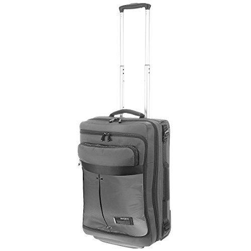 Samsonite Cityvibe Lapt. Duffle/Wh.55/20 Exp Bolsas de viaje, 55 cm, 43 L, Color Gris (Ash grey)