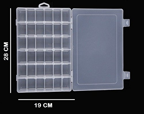 70 Off On Jianhua 36 Grid Cells Multipurpose Clear Transparent