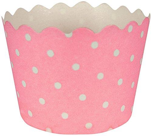 (Unbekannt Creative Converting 12Zählen Polka Dot Backförmchen, Classic Pink)