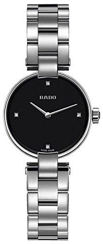 Rado Coupole Jubile Damen-Armbanduhr 27mm Armband Edelstahl Batterie R22854703
