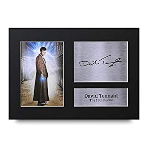 HWC Trading David Tennant A4 Gerahmte Signiert Gedruckt Autogramme Bild Druck-Fotoanzeige Geschenk Für Dr Who Tv-Show…