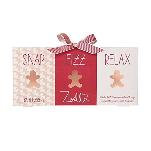 Zoella Gingerbread Bath Fizz Gift Set