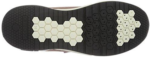 Geox J Hideaki D, Baskets Basses Fille Pink (OLD ROSEC8014)
