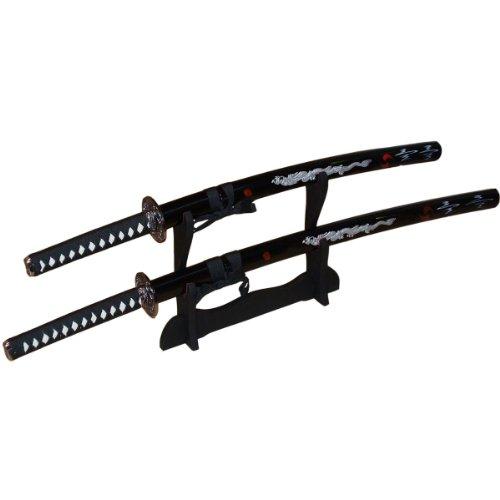 DerShogun 2er Dragon-Samurai Schwertset