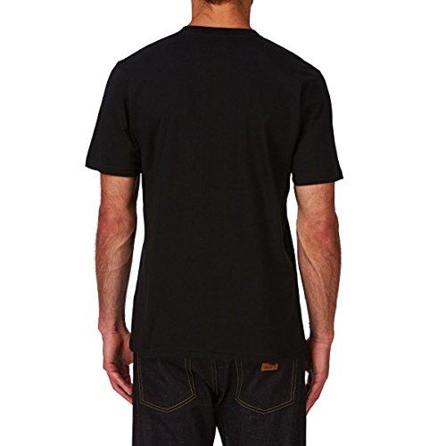 Carhartt Herren T-Shirt Wip Script grau Schwarz / Weiss