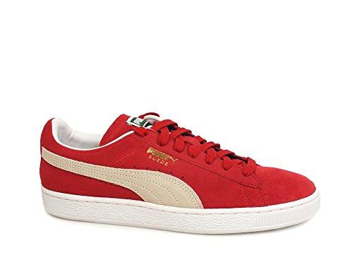Puma Suede Classic + Team Regal Red White 352634 05