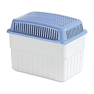 WENKO Feuchtigkeitskiller 1 kg, Raumentfeuchter, 24 x 16 x 15 cm, weiß