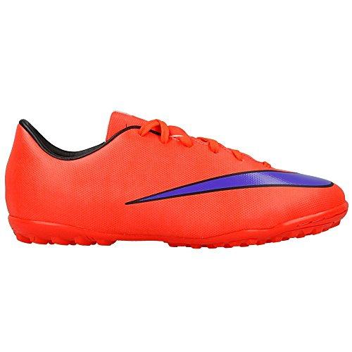 Nike Junior Mercurial Victory V TF Unisex-Kinder Fußballschuhe Rot