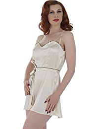 What Katie Did Hollywood Combinaison Culotte Pyjama Playsuit Pêche L8004