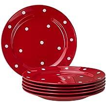 suchergebnis auf f r geschirr rot mit wei en punkten. Black Bedroom Furniture Sets. Home Design Ideas