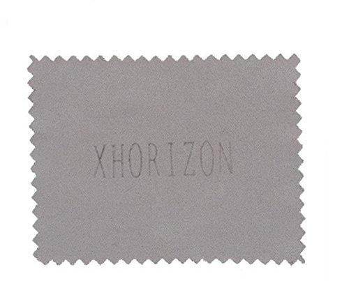 """xhorizon® YL Luxe ethnique Fusion Aimanté Couverture Bumper Coque Crystal Case Chrome Bumper 4,7 """"iPhone 8 Avec Un chiffon de nettoyage Noir"""