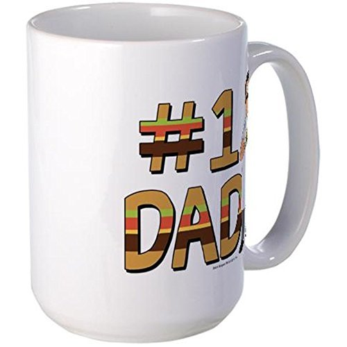 CafePress - Bob's Burgers #1 Dad Large Mug - Coffee Mug, Large 15 oz. White Coffee Cup by CafePress
