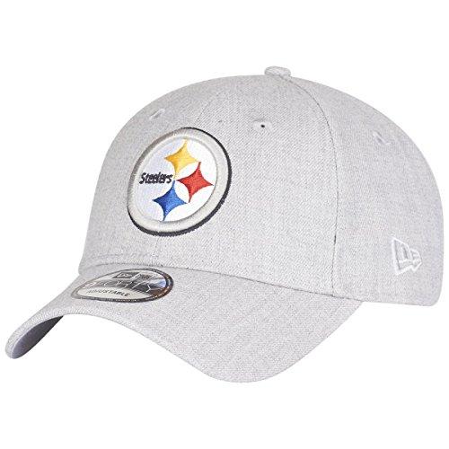 New Era 9Forty Cap - Pittsburgh Steelers heather grau