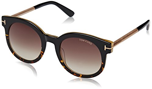 Tom Ford NERO LUCIDO FRAME WITH ROVIEX GRAD LENS