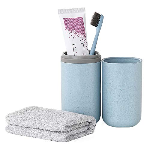 Sviqskr Travel Wash Cup Business Essentials Mouthwash Cup Set Eingestopfte Tragbare Zahnbürste Zahnpasta Aufbewahrungsbox Einfache Kreativität