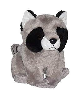 Wild Republic 21179 Peluche Mapache Sentado, Cuddlekins Cuddly Lil