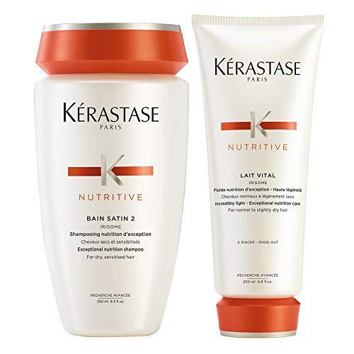 Kerastase Bain Satin Lait Vital Kit shampoo e balsamo