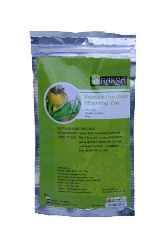 Senna & Garcinia Slimming Tee, 30 Teebeutel pro Packung (Senna Tee Beutel)