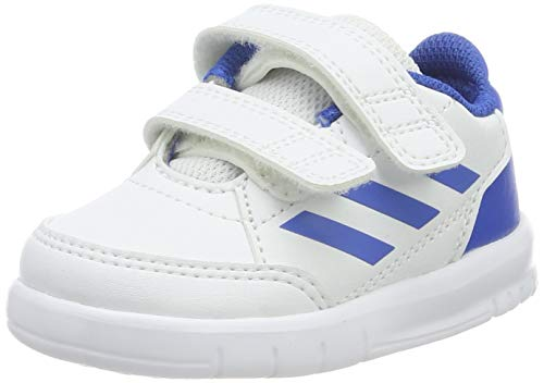 Adidas Altasport CF I, Zapatillas Unisex bebé, Blanco Footwear White/Blue/Blue 0, 20 EU