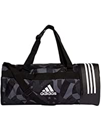 adidas 3S CVRT DUF MWG Gym Bag, Unisex Adulto, Black White, NS