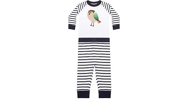 Kleckerliese Baby Kinder Schlafanzug Pyjama Jungen M/ädchen Zweiteiler Langarm mit Motiv Tiermotiv Wunschname Name Tiere L/öwe