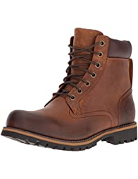 Timberland Men's Earthkeepers Rugged Boot, Red Brown, 11. 5 M US