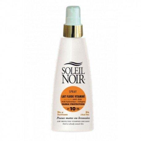Soleil Noir Spray Lait Fluide Vitaminé SPF 10 150 ml