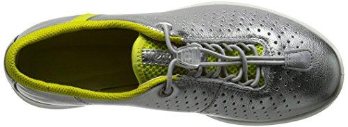 Ecco Damen Sense Sneakers Silber (50558ALUSIVER/SULPHUR/CONCRETE-BLACK)