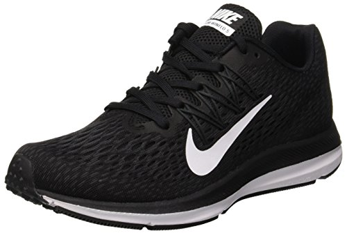 Nike Damen Zoom Winflo 5 Laufschuhe, Schwarz (Black/White/Anthracite 001), 38 EU