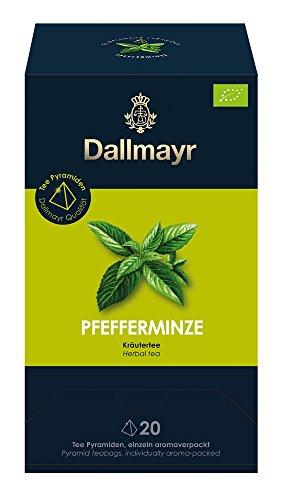 Dallmayr Teepyramide Pfefferminze Bio, 1er Pack (1 x 35 g)