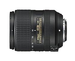 Nikon AF-S DX 18-300 mm 1:3,5-6,3G ED VR Reisezoom-Objektiv (inkl. LC-67 Frontdeckel und LF-4 Rückdeckel, bildstabilisiert) Schwarz