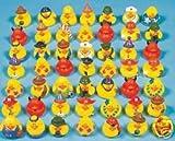 50 Pc Rubber Ducks Assortment