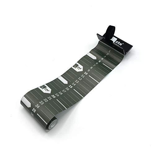 Zite Fishing Fisch-Maßband zum Angeln - Aufrollbar & 120 cm Messskala - Roll-Up Measuring Tape zum Fische Messen -