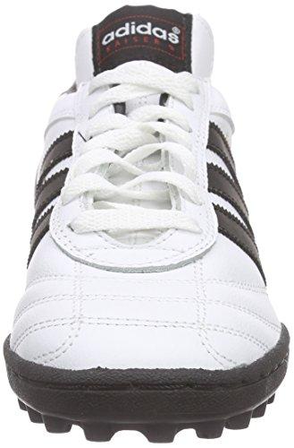 adidas Kaiser 5 Team, Chaussures de Football Compétition garçon Blanc (Ftwr White/core Black/core Black)
